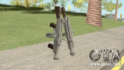 Big Double Submachine Gun para GTA San Andreas