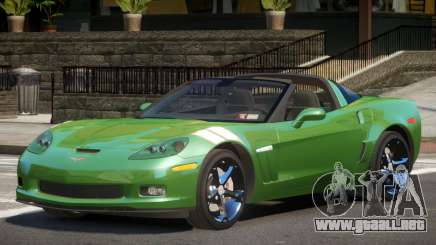 Chevrolet Corvette GTS para GTA 4