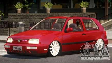 Volkswagen Golf Tuning para GTA 4