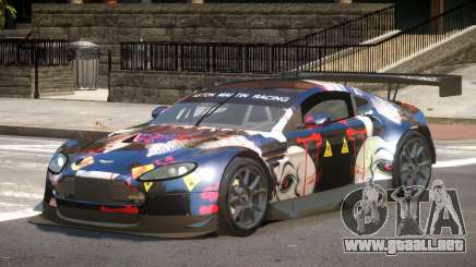 Aston Martin Vantage GT-R PJ3 para GTA 4