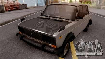 VAZ 2106 Gris para GTA San Andreas