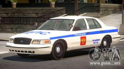 Ford Crown Victoria Police V1.3 para GTA 4