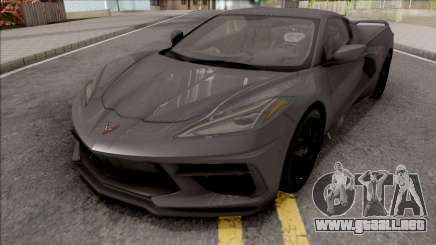 Chevrolet Corvette C8 2019 v2 para GTA San Andreas