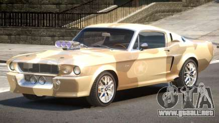 Shelby GT500 V2.1 PJ2 para GTA 4