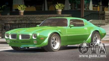 1971 Pontiac Firebird GT para GTA 4