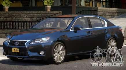 Lexus GS V1.1 para GTA 4