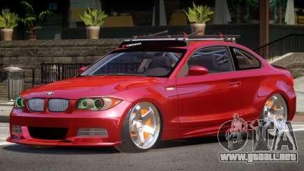 BMW 135i RS para GTA 4