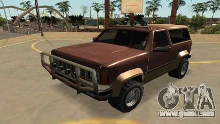 Escudo de armas de la Riata Estilo (Civil Sandking) para GTA San Andreas