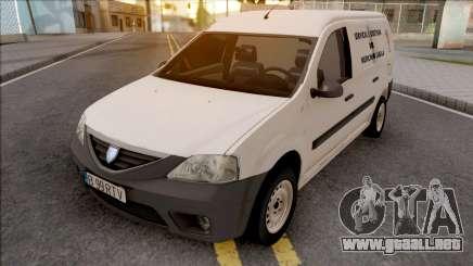 Dacia Logan MCV Van 2008 Medicina Legala para GTA San Andreas