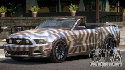 Ford Mustang GT Cabrio PJ4 para GTA 4