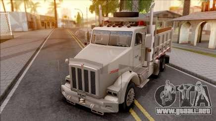 Kenworth T800 White para GTA San Andreas