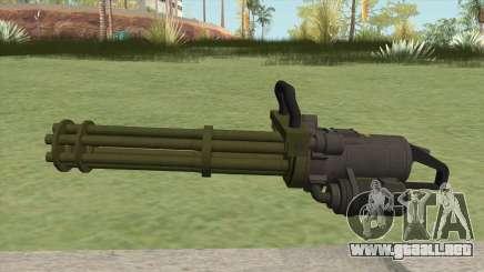 Coil Minigun (Green) GTA V para GTA San Andreas