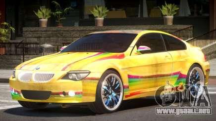 BMW M6 GT PJ4 para GTA 4