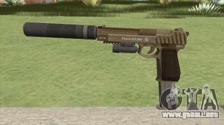 Pistol .50 GTA V (Army) Full Attachments para GTA San Andreas
