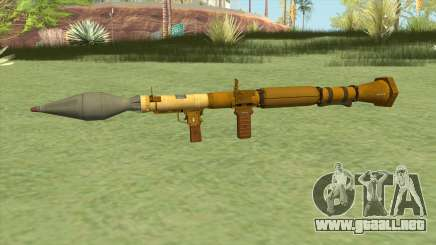 Rocket Launcher GTA V (Gold) para GTA San Andreas