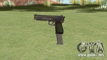 Pistol .50 GTA V (Green) Base V2 para GTA San Andreas