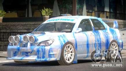 Subaru Impreza WRX GTI PJ1 para GTA 4