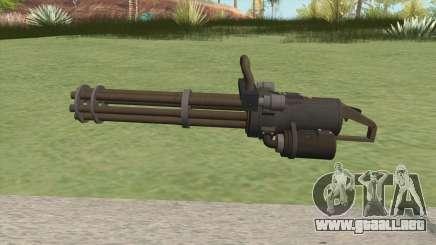 Coil Minigun (LSPD) GTA V para GTA San Andreas