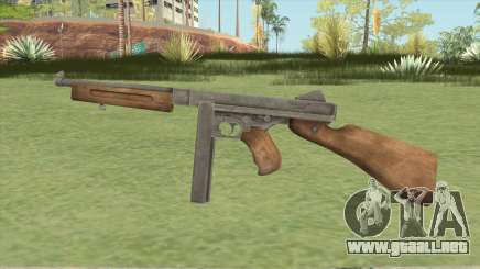 Thompson M1A1 (Enemy Front) para GTA San Andreas