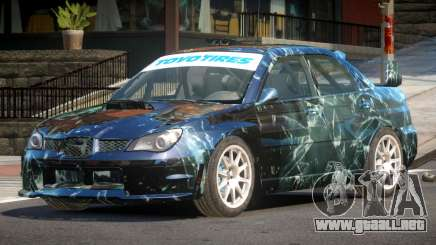 Subaru Impreza WRX GTI PJ3 para GTA 4