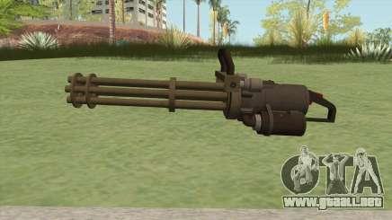 Coil Minigun (Army) GTA V para GTA San Andreas