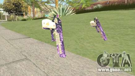 Joker Gun (4K) From Suicide Squad para GTA San Andreas