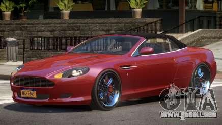 Aston Martin DB9 Volante V1.0 para GTA 4