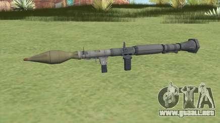 Rocket Launcher GTA V (Platinum) para GTA San Andreas