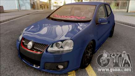 Volkswagen Golf Mk5 Low para GTA San Andreas