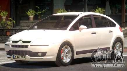 Citroen C4 RS para GTA 4