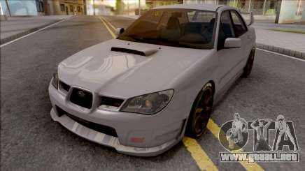 Subaru Impeza WRX STI 2006 para GTA San Andreas