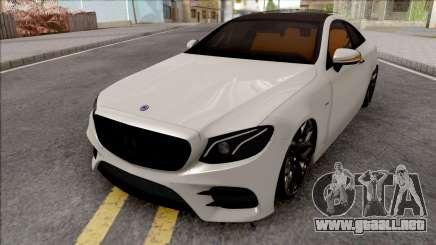 Mercedes-Benz E350D Coupe C238 2017 SlowDesign para GTA San Andreas