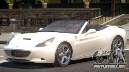 Ferrari California Spider V1.0 para GTA 4