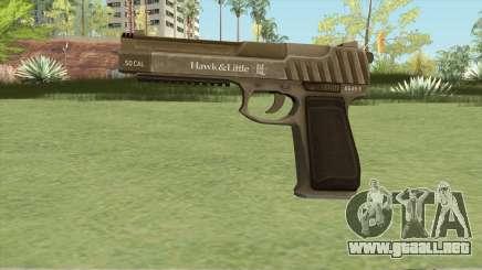 Pistol .50 GTA V (Army) Base V1 para GTA San Andreas