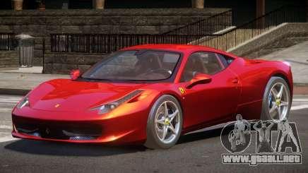 Ferrari 458 Italia Sport para GTA 4