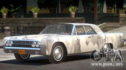 1961 Lincoln Continental PJ2 para GTA 4