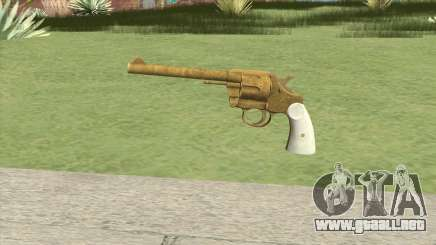 Double Action Revolver (Gold) GTA V para GTA San Andreas
