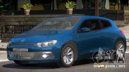 Volkswagen Scirocco 3 para GTA 4
