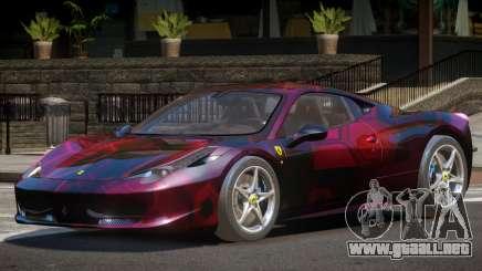 Ferrari 458 Italia Sport PJ3 para GTA 4