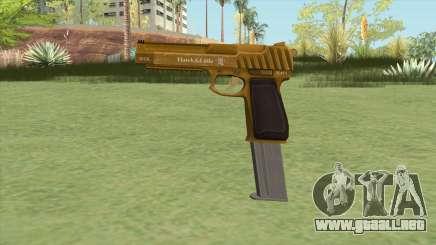 Pistol .50 GTA V (Gold) Base V2 para GTA San Andreas