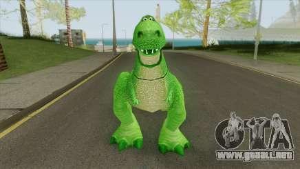 Rex (Toy Story) para GTA San Andreas