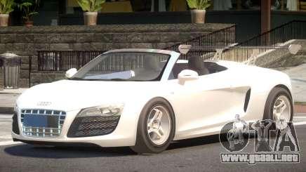 Audi R8 Spyder V1.1 para GTA 4