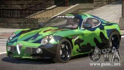 Alfa Romeo 8C V1.0 PJ3 para GTA 4