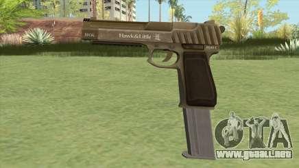 Pistol .50 GTA V (Army) Base V2 para GTA San Andreas