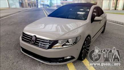 Volkswagen Passat CC Grey para GTA San Andreas