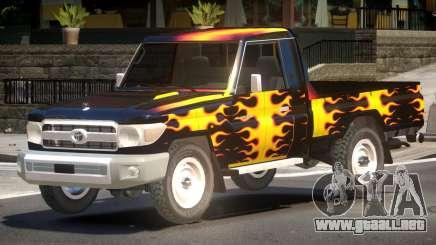 Toyota Land Cruiser PJ1 para GTA 4