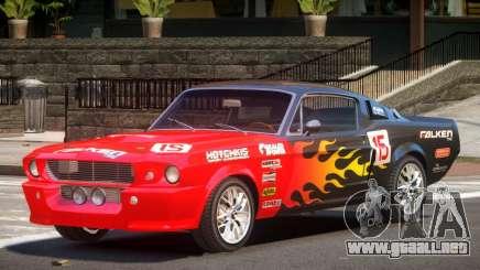 Shelby GT500 V2.1 PJ1 para GTA 4