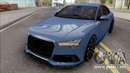 Audi RS7 Blue para GTA San Andreas