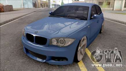 BMW 1-er E81 M-Packet para GTA San Andreas