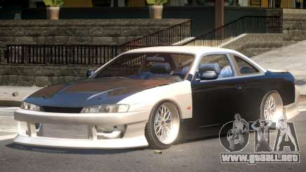 Nissan Silvia S14 GT para GTA 4